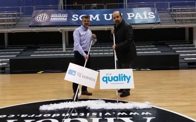 Quality Colabora con Basquet Club Andorra