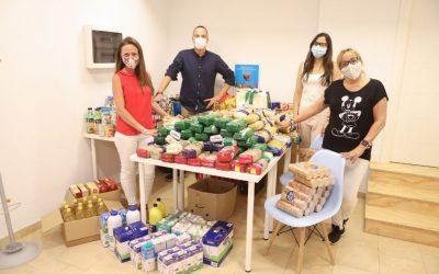 Campaña solidaria Quality de recogida de alimentos en Barcelona, Tarragona y Girona
